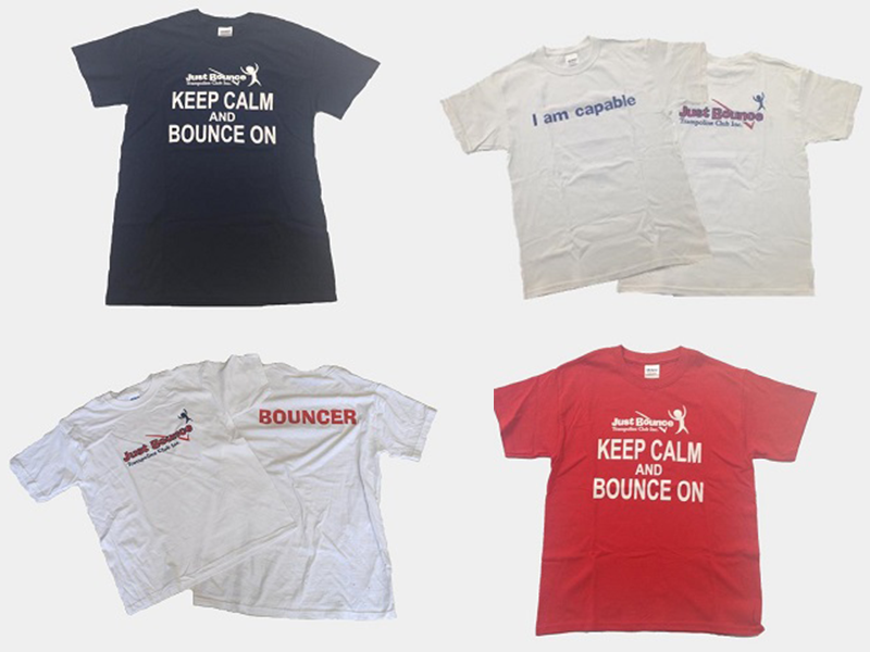 Just Bounce T Shirts