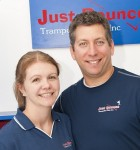 Jacinda and Stephen David, Owners, Just Bounce Trampoline